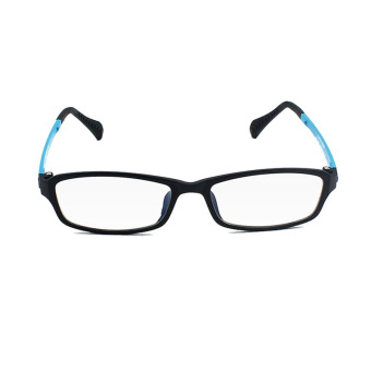 KATELUO TUNGSTEN Computer Goggles Anti Fatigue Radiation-resistant Reading Glasses Frame Eyeglasses 13021(Blue