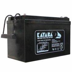 Kayaba VLRA Baterai 12v 100Ah