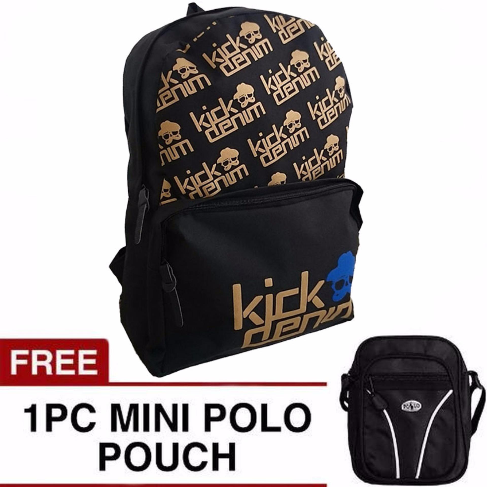 Bougger Emboss Laptop Backpack Free Mini Poloclub Pouch Selempang Source · Bag & Stuff Bougger Emboss