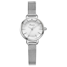 KIMIO Women Fashion Analog Display Quartz Watch Luxury Brand Dress Watches (Sliver) (Intl)