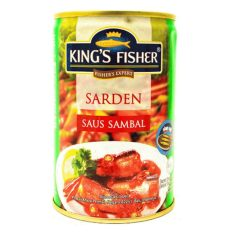 King Fisher Sardines Saos Sambal - 155gr