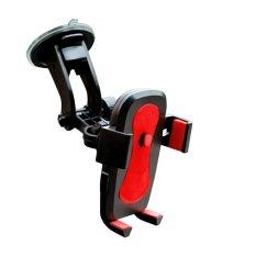 Klikoto Phone Holder / Tempat HP Mobil Universal - Merah