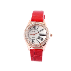 Ladies Fashion Watches Creative Gifts Watches Red
