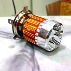 LAMPU UTAMA 3 LED H4 4 MODE AE MOBIL MOTOR