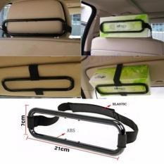 Lanjarjaya Smart Tissue Box Holder/Tempat Tissue Mobil Gantung - Hitam