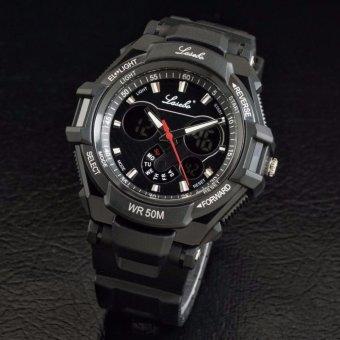 Lasebo dual time - sporty - black