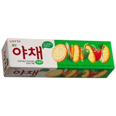 Lotte Vegetable Cracker - 75 g