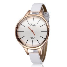 Louiwill 2015 New Top Sale Quality Women Leather Fashion Watch Special For Women Dress Watch Workwear Casual (White) (Intl)