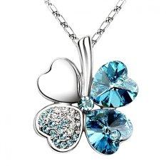 LOVENGIFTS Swarovski Lucky Pendant Necklace