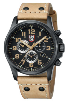 Luminox Male Black Dial & Brown Strap (1945)