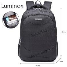 Luminox Tas Ransel Laptop Tahan Air 62059 Backpack Up to 15 inch - Hitam
