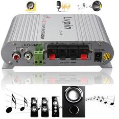 Lvpin 200 Watt 12 V Super Bas Mini Hi-Fi Stereo Radio Channel amplifier penguat MP3 untuk mobil rumah