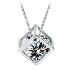 Magic Love Cube CZ Diamond Pendant (Intl)