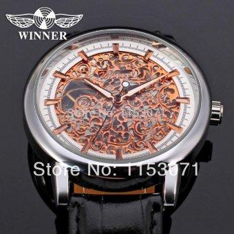 Men Automatic Rose Gold Mecanique Watches - intl