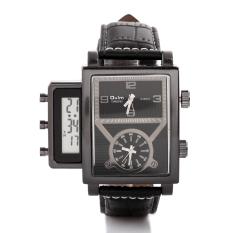 Men Luxury Brand Men Sport Wristwatches Men's Watch Quartz Leather Watch (Intl)