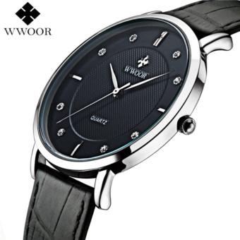 Men Watches New Luxury Brand Ultra Thin Full Genuine Leather Clock Male 30m Waterproof Casual Sport Watch Men Wrist Quartz Watch