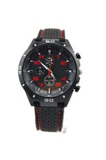 Men's Cycle Racing Stainless Sl Sport Analog Quartz Watches Red