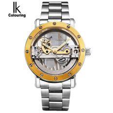 Men's Skeleton Auto Mechanical Waterproof Wristwatch - intl