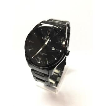 Mirage Jam Tangan Casual Pria Stainless Steel - M 7570 Black