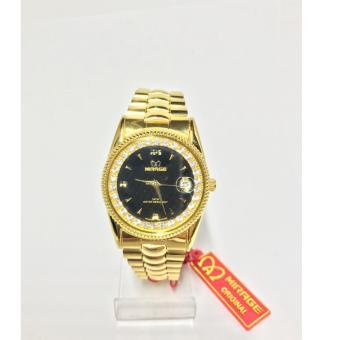 Mirage Jam Tangan Pria Rx tgl Gold M1579