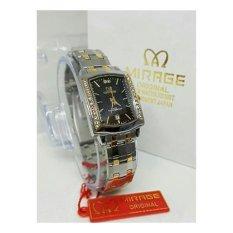 Mirage - Jam Tangan Wanita Original - strap Stainless -