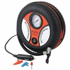 Model Ban Bulat Air Compressor Pompa Listrik Ban Mobil Motor Portabel