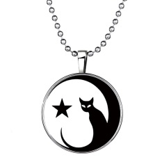 MoNo Diy Cool Fashion Glowing In The Dark Pendant Necklace (Intl)