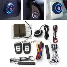 Motors Alarm Systems Accessories 8X Car Alarm Start Security System Key Passive Keyless Entry Push Button Remote - intl