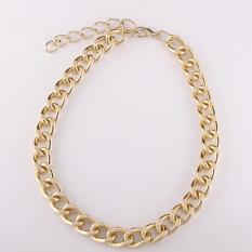 N019 Fashion Necklaces For Women Fashion Big Star Metal Necklaces (Intl)