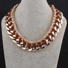 N056-F Fashion Necklaces For Women Fashion Big Star Metal Necklaces (Intl)
