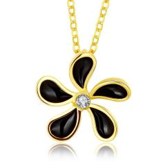 N874-A Wholesale Nickle Free Antiallergic 18K Real Gold Plated Necklace Pendants New Fashion Jewelry (Intl)