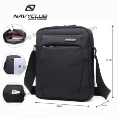 Navy Club Tas Selempang Tablet Ipad Tahan Air 5550 - Hitam