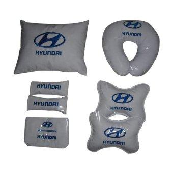 Neo Bantal Car Set Hyundai - Putih
