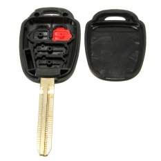 New 4 Buttons Auto Car Entry Remote Key Fob Case Uncut Shell For Camry (Intl)