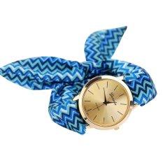New Fashion Casual Fabric Bracelet Wristwatch Women Top Quartz Watch NO.4