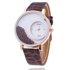 New Fashion Leather Strap Women Rhinestone Wrist Watch Casual Women Dress Watches Watched Hot Relogio Feminino BW656 (Intl)
