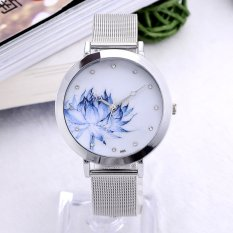 New Fashion Stainless Steel Watches (Silver)
