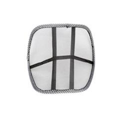 New Healthy Massage Lumbar Support Mesh Design Car Back Cushion New (Black)