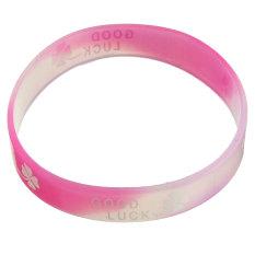 New Luminous Silicone Rubber Wristband Bracelet Bangle Colorful Multi-Color