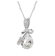 New Swarovski Elements Necklace Man Tingfang High - Grade Crystal Jewelry Jewelry - 4917 White