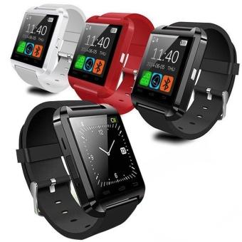 New U8 Bluetooth Smart Wrist Watch Phone Mate For Andriod Phone Samsung Note4 N9100 LG HTC Huawei - intl