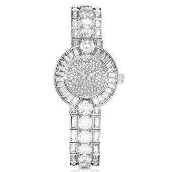 Nonof Best Charm SMAYS Watch Analog Watch Women Fashion Watch Ladies Watches Quartz Female Watch A809 Silver