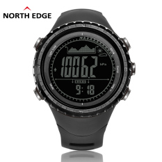 NorthEdge Men's Sports Digital-watch With Altimeter Barometer Compass Thermometer Weather Forecast Pedometer Men Digital Watch For Outdoor Climbing Hiking Running Swimming Cycling Wristwatch