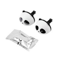 OH Cute Panda Auto Car Air Freshener Clip Perfume Diffuser For Car Home (Black)