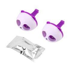 OH Cute Panda Auto Car Air Freshener Clip Perfume Diffuser For Car Home (Purple)