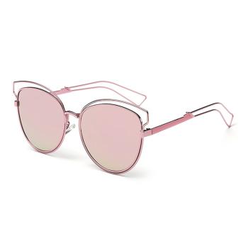 Oh Eyewear Retro Vintage Fashion Wanita Warna Bingkai Kacamata Hitam Mata  Kucing Baru Berwarna Merah Muda ea89f2552f