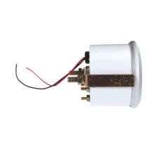 Oil Pressure Meter Gauge with Sensor For Auto Car 2.52mm 0~100PSI Blue Light