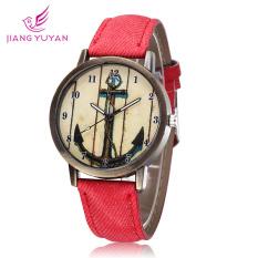 JIANGYUYAN JIANGYUYAN Newest Quartz Watch Women Famous Brand Fashion Casual Watch Arrow Bow 2015 Winner Dress Wrist Watch (Red) (Intl)