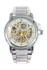 Orkina Men's Automatic Stainless Steel Band Watch ORK-0011 Silver