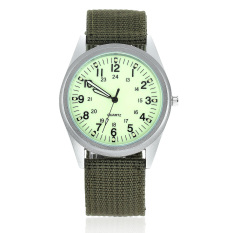 Orkina P104 Men's Military Style Fashionable Watches with Luminous Pointer (Green)